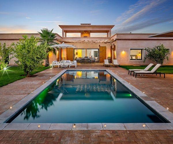 Location villa marrakech Salamouni avec Séjour Maroc