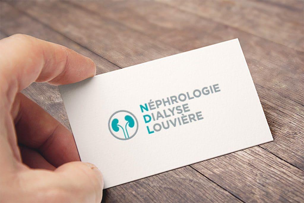 NDL – Néphrologie Dialyse Louvière : Création de logo