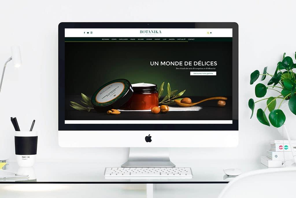 Botanika Marrakech : nouveau site internet