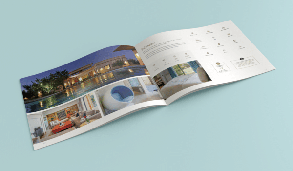Brochure de séjour maroc ouverte